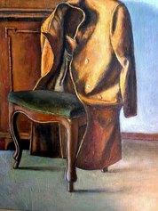 Senza titolo, olio su tela, 1982, cm. 50x45