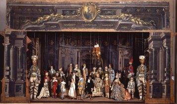 Ignoto bibienesco. Teatrino per marionette. 1770 circa. Bologna, Museo Davia Bargellini.