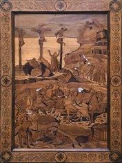 Fra Damiano Zambelli (1480 circa - 1549). Crocifissione, 1530-1540 - cm 87 x 63   Bologna, Museo Davia Bargellini. Foto Roberto Serra - Courtesy Istituzione Bologna Musei