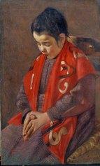 M. Puccini, Bambina che prega (Ave Maria), 1887 circa, olio su tela, 69x42 cm., Istituto Matteucci, Viareggio