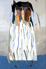 Silvio di Giovanni, Withe symphony, paste acriliche e olio su tela, 2019, 150x100