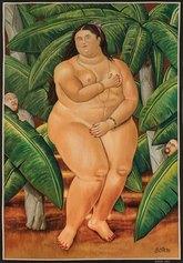 Arazzeria Scassa - Venere, 2010, da un'opera di Fernando Botero, Tessitura Arazzeria Scassa - Collezione Alcaro – Asti