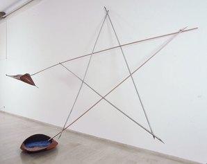 Gilberto Zorio, Stella-acidi, 1982, Ravenna, MAR-Museo d'Arte della città di Ravenna