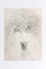 Marisa Merz, Senza titolo, S.D., Grafite su carta, 34,8x24,8 cm - Courtesy Archivio Merz, foto credit Renato Ghiazza