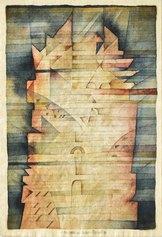 Rubare a Klee, 1980 - Acquerello e matita su carta, 45 x 28 cm