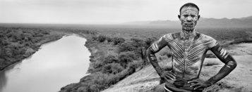 Richard de Tscharner, Peinture sur corps, Etiopia, 2008