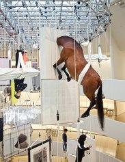 Maurizio Cattelan, All, veduta della mostra, The Solomon R. Guggenheim Museum, New York, 2011 Courtesy Archivio Maurizio Cattelan Foto Zeno Zotti, The Solomon R. Guggenheim Foundation, New York