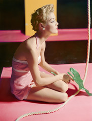 Horst P. Horst, Jean Patchett, bathing suit by Brigance, 1951 archival pigment print on Hahnemuehle Baryta paper, cm 80 x 105 ca. Copyright Horst Estate/Condé Nast,