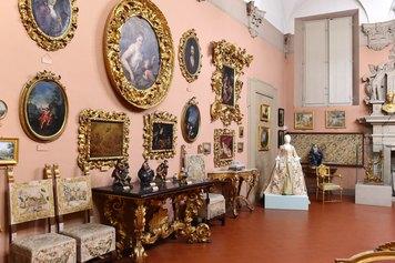 Le plaisir de vivre. Veduta di allestimento della mostra.   Bologna, Museo Davia Bargellini. Foto Roberto Serra. Courtesy Istituzione Bologna Musei