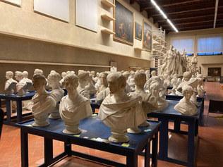 Galleria dell'accademia di Firenze - Disallestimento Gipsoteca