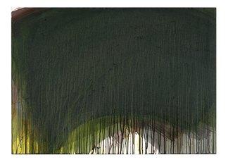 Ohne Titel, 1995-96. Vernice a colla su legno. Glue paint on wood. cm 76,5 x 105,5
