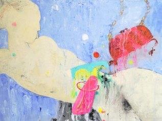 Angelo Colagrossi - Bella sagoma - acrilico su tela cm 60x80