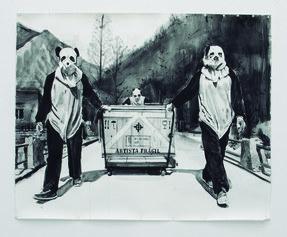 Belén Mazuecos - Fragile artist Handle with care II