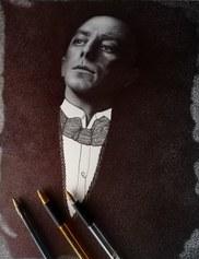 Ritratto di Umberto Boccioni - Adele Ceraudo, penna Bic