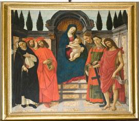 Botticelli, Pala del Trebbio