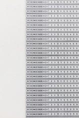 FLO-005 - 2mx2m, 2021 - Plastic folding rulers - 200×200 cm - Edition 1/4 + II AP