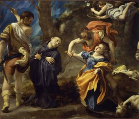 Antonio Allegri detto il Correggio: Martirio dei santi Placido, Flavia, Eutichio e Vittorino, 1524 circa Olio su tela Parma, abbazia di San Giovanni Evangelista