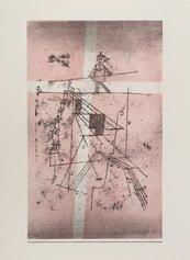 Paul Klee, Seiltänzer, 1923, litografia a colori, 432 X 268 mm
