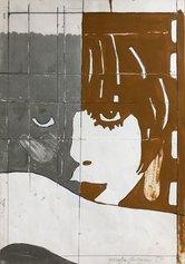 Fioroni Giosetta, Liberty bicolore, 1969