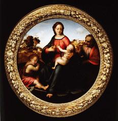 Franciabigio, Madonna con Bambino San Giuseppe San Giovannino