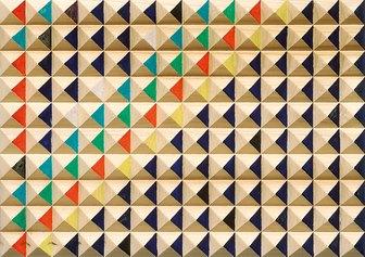 GIANCARLO GAGLIARDI - Impressioni di Settembre, 2015, acrilico su legno, cm 48x56