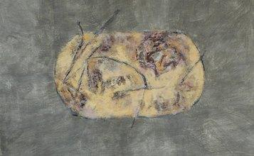 Giuliana Silvestrini, mappa7, 60x90cm