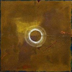 Icone (Eventi Secondi) Le Quattro stagioni - Estate, 1997_Industrial paint su tela sabbiata (polittico), 200 x 200 cm (ogni tela 100 x 100 cm)_.Fondazione Gastone Biggi