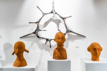 Installation view - Kim SeungHwan. Organism & Eternality-  2021, Studio Museo Francesco Messina. © Giuseppe Biancofiore