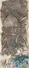 Piero Conestabo - La Sagrada Familia,aniline e matita su tela,105x45 cm 1994-2021