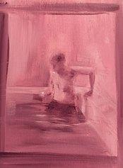 Leo Ragno, the pool, 30x40 cm