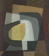 Willy Leiser, Limone (natura morta), 1955, Olio su tavola