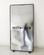 SENZA TITOLO (DA DIZIONARIO VOL.1) Luca Massaro, stampa manuale su metallo, 180x125x5cm, 2021