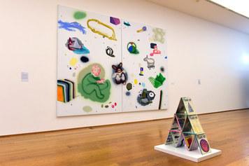 MAMbo – Museo d'Arte Moderna di Bologna, collezione permanente, veduta d'allestimento della sezione Officina d'Arte Italiana - Foto Roberto Serra