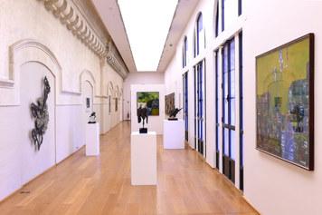 MAMbo – Museo d'Arte Moderna di Bologna, collezione permanente, veduta d'allestimento della sezione Ultimo Naturalismo e Scultura - Foto Roberto Serra