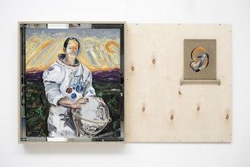 Umano molto umano. 13 ritratti in vetrina - Matteo Fato, Ritratto di Charles Duke, 2019, proprieta dell'artista