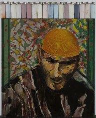 Aldo Mondino Ritratto, 1986 ML Fine Art - Matteo Lampertico ©ALDO MONDINO, by SIAE 2021 Foto Paolo Vandrasch, Milano