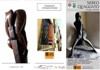 Nereo Quagliato, personale alla Galleria Artù - Artisti Uniti