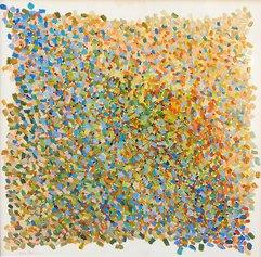 Perrone Nino, Energia Vibrante olio su massonite cm 69x69 anno 2012 (FILEminimizer)