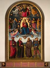 Perugino Assunzione