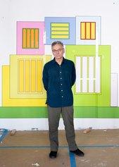 Peter Halley, foto Nicholas Calcott