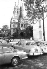 Roberto Gabetti: Sanremo. La chiesa di rito ortodosso, 1958