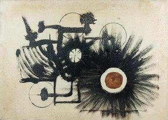 Simbolismo meccanico, 65x50cm, olio su tela, Collezione privata