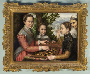 Sofonisba Anguissola, The Chess Game, 1555. The Raczyński Foundation at the National Museum, Poznan