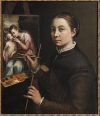 Sofonisba Anguissola, Self Portrait, ca. 1556. Muzeum-Zamek w Łańcucie, Łańcu