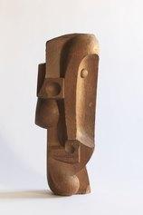 Willy Leiser, Testa, 1953-'54, Legno di castagno