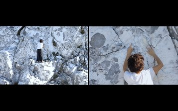 The act of remembering and forgetting, film still. Flaminia Celata. IO sono memoria