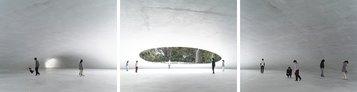 Walter Niedermayr, Spazio immagine (Bildraum), S 299, 2013 Trittico, 104x399 cm Courtesy Ncontemporary Milano, Galerie Nordenhake Berlin/ Stockholm © Walter Niedermayr