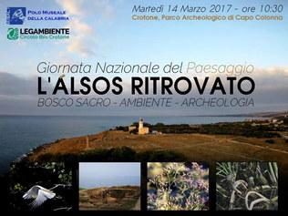 Giornata Nazionale del Paesaggio al Polo Museale della Calabria