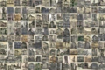 Andrès Pachon - Class(h) project 2021 Bulding cluster photographic print 50x75 ed of 3 + 2AP