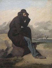 ntonio Ciseri, L'esule, 1860-1870, olio su tela, 40 x 31 cm. Museo d'arte della Svizzera italiana, Lugano. Collezione Città di Lugano